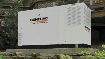 Generac generator installed in Marcellus NY by JP's Best Electric.